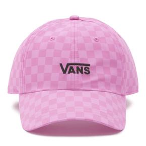 Gorro Court Side Printed Hat Fuchsia Pink Checkerboard