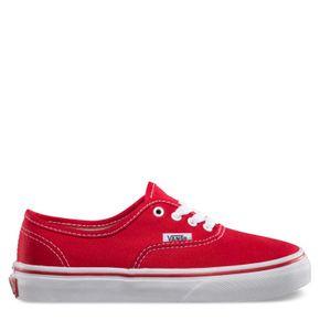 Zapatillas Niño Authentic Red/True White