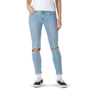 Pantalones Destroy Skinny Drifter Blue