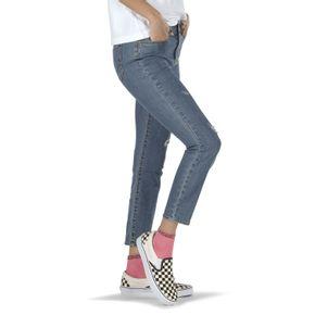 Pantalón Skinny 9 Worn Indigo