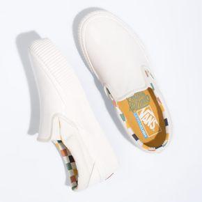 Zapatillas Slip-On Platform Sf (Karina Rozunko) Patent/Marshmallow