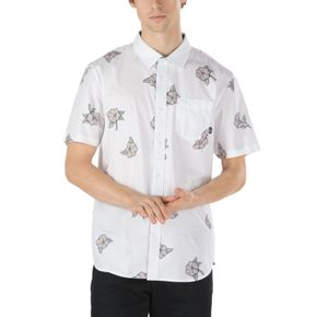 Camisa Thank You Floral Ss White-Thank You Floral