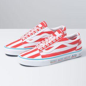Zapatillas Ua Old Skool (Where'S Waldo?) International/Stripes