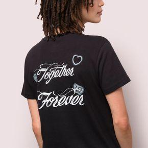Polera Together Forever Bf Black