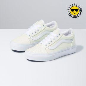 Zapatillas Uy Old Skool Youth (5 a 12 años) (Uv Glitter) Pink/True White
