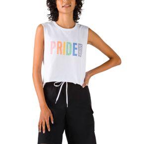 Polera Pride Muscle Tank White