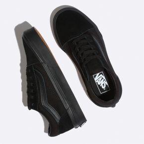 Zapatillas Uy Old Skool Youth (5 a 12 años) Blk/Blk