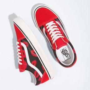 Zapatillas Ua Old Skool 36 Dx (Anaheim Factory) Og Red/Og Hotlips