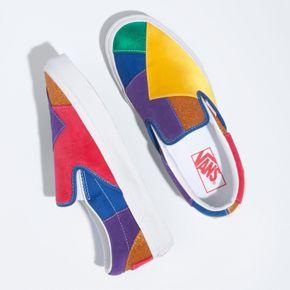 Zapatillas Ua Classic Slip-On (Pride) Patchwork/True White