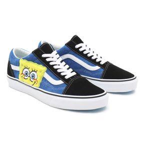 Zapatillas Ua Old Skool (Spongebob) Black/Blue