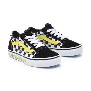 Zapatillas Uy Old Skool Youth (5 a 12 años) (Spongebob) Off The Wall