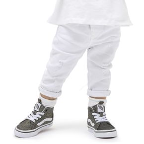 Zapatillas Td Sk8-Hi Zip Toddler (1-4 años) (Glitter) Grape Leaf/True White