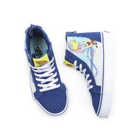 Zapatillas Uy Sk8-Hi Zip Youth (5 a 12 años) (Spongebob) Best Buddies 4/Life