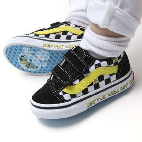 Zapatillas Td Old Skool V Toddler (1-4 años) (Spongebob) Off The Wall