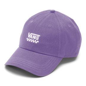 Jockey Court Side Hat Chalk Violet