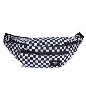 Mochila Ward Cross Body Pack Black-White Check